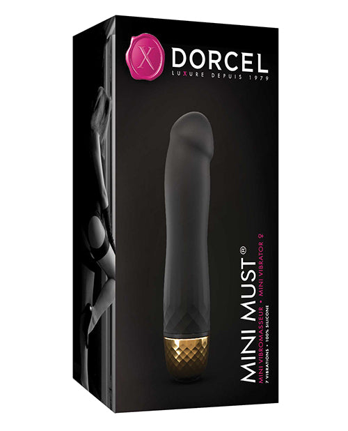 Dorcel Mini Must - Black-gold