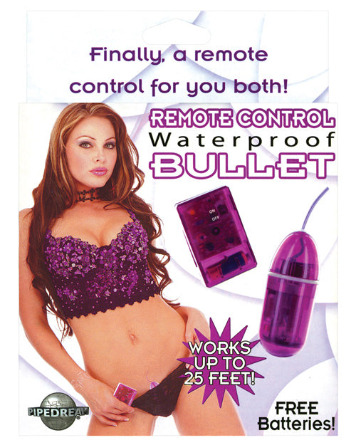 Remote Control Bullet Waterproof