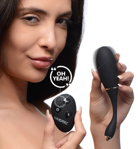 Voice Activated 10x Vibrating Egg With Remote Control