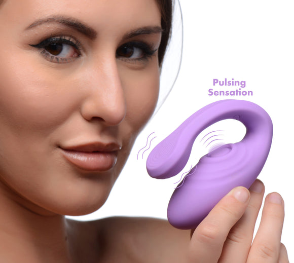 7x Pulse Pro Pulsating And Clit Stimulating Vibrator With Remote Control