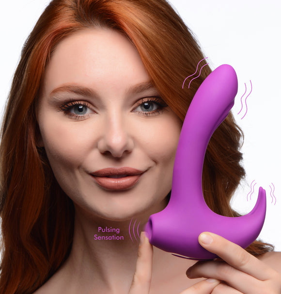 12x Lux Rocker Pulsing And Vibrating G-spot Rabbit