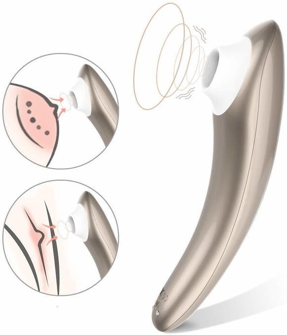Clitoris Stimulator Travel with Air Pulse Technology and 10 suction modes
