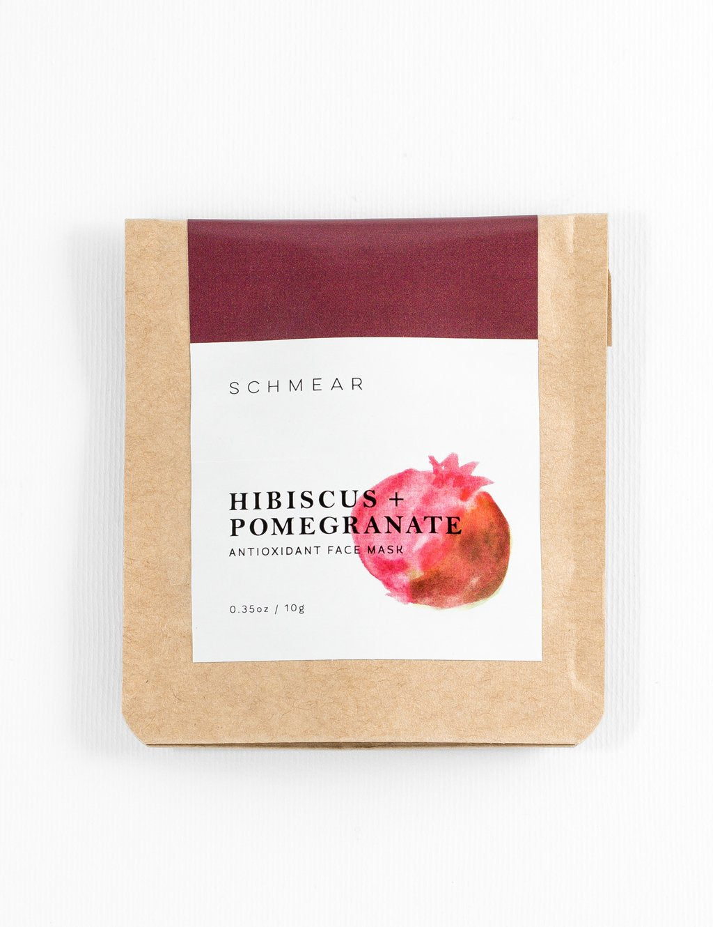 Hibiscus + Pomegranate Antioxidant Face Mask (10g)