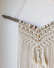 Load image into Gallery viewer, Beaded Eclectic Macrame Wall Hanging
