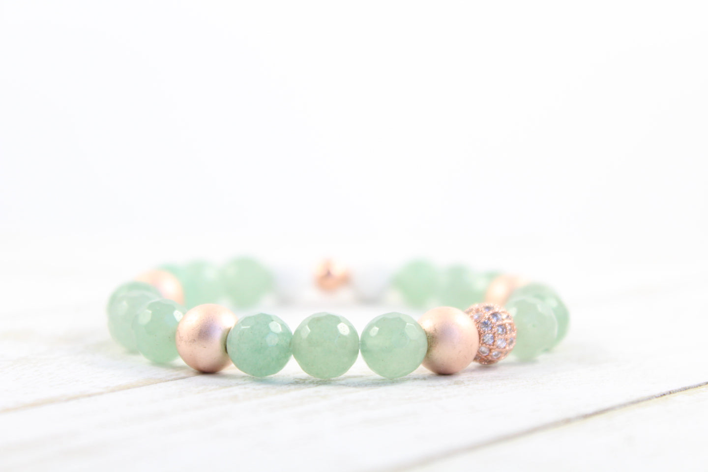 """Bloom"" - Green Aventurine"
