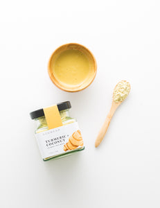 Turmeric + Coconut Calming Face Mask (45g)