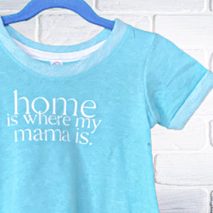 Home Is Where My Mama Is | twirl dress