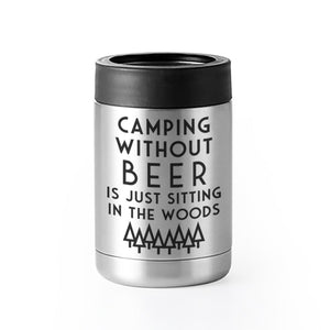 """Camping Without Beer"" Thermal Can Insulator"
