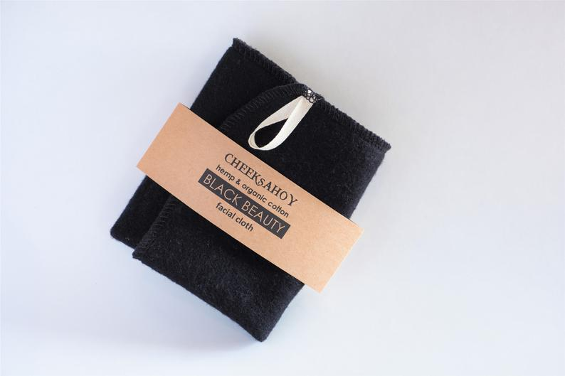 Black Beauty Facial Cloth