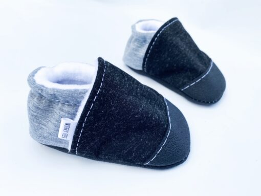 Black Shell Baby Shoe