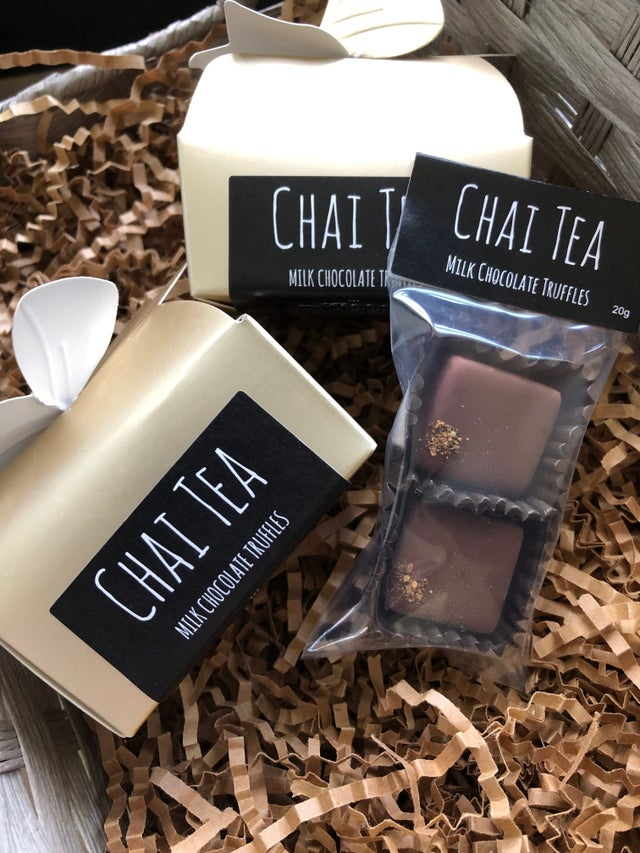 Milk Chocolate Chai Tea Truffles (2 pack gift box)