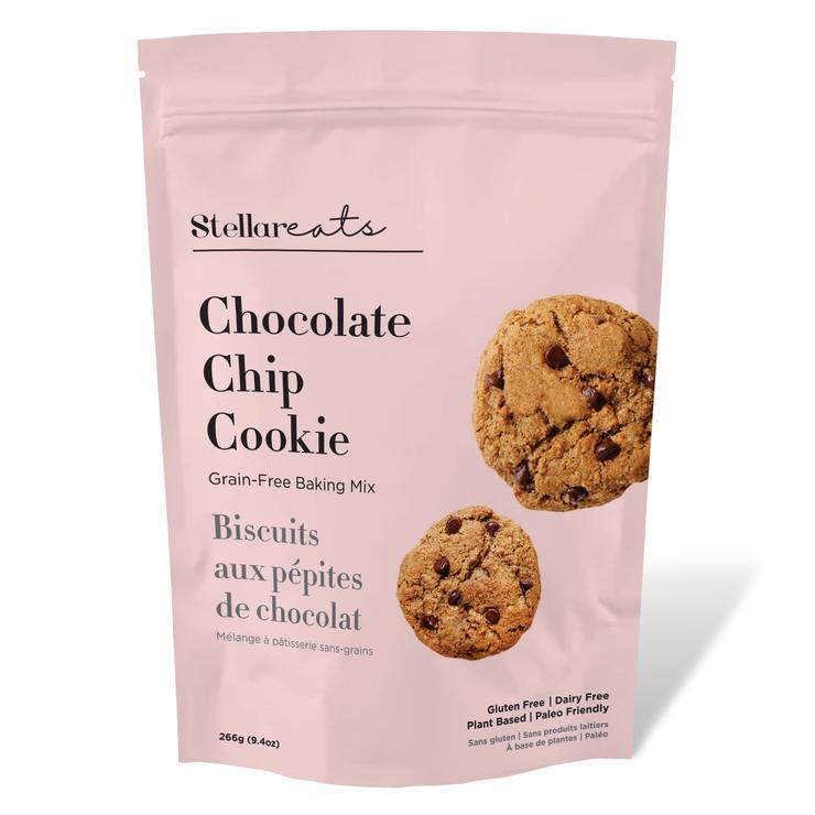 Chocolate Chip Cookie Mix-GF and DF