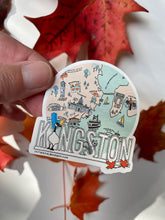 Load image into Gallery viewer, ILLUSTRATED KINGSTON MAP  -  VINYL STICKER