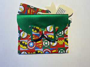 Small Superhero Purse with Bow