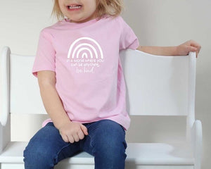 Be Kind Pink T-Shirt (toddler)