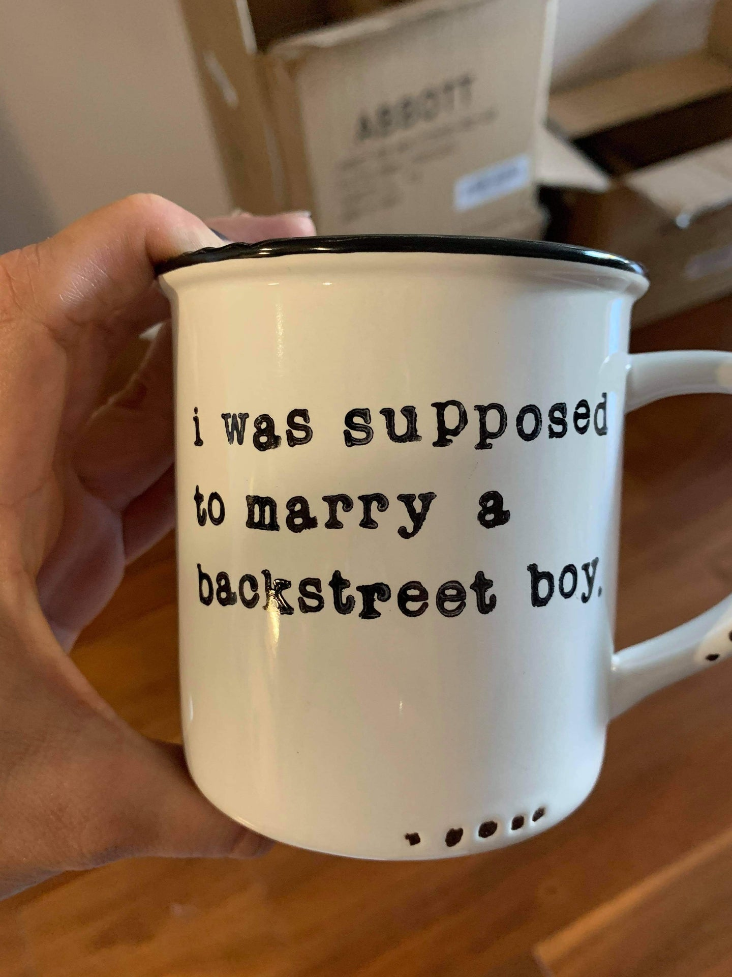 I was supposed to marry a back street boy