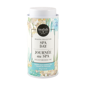 Spa Day Herbal Tea Tin