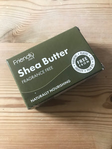 Friendly Soap shea butter cleansing bar (95g)