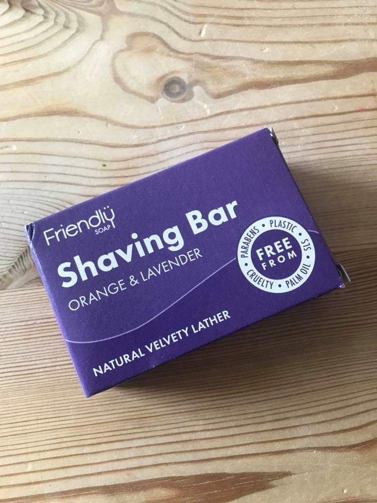 Friendly Soap shaving bar (95g)