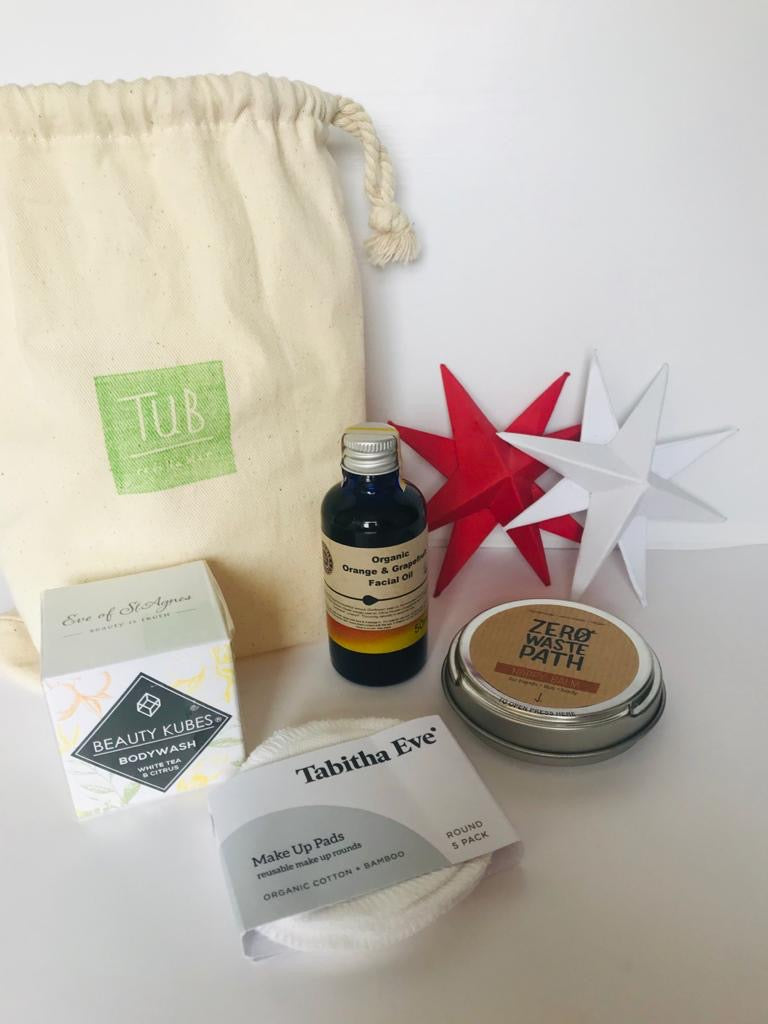 Plastic-free self-care pack