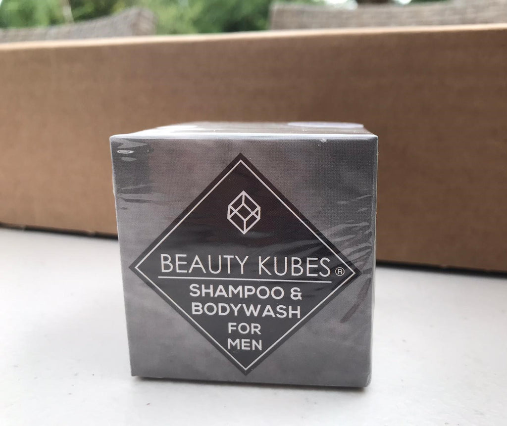 Beauty Kubes shampoo and body wash for men