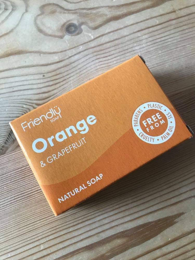 Friendly Soap: orange & grapefruit (95g)
