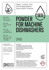 SESI dishwasher powder (per 100g)