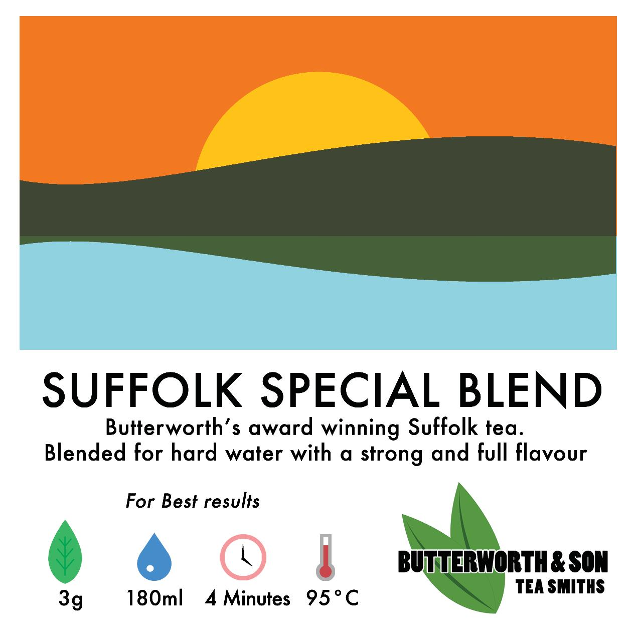 Loose leaf tea: Suffolk Special Blend