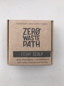 ZWP 2-in-1 shampoo & conditioner bar for itchy scalp (70g)