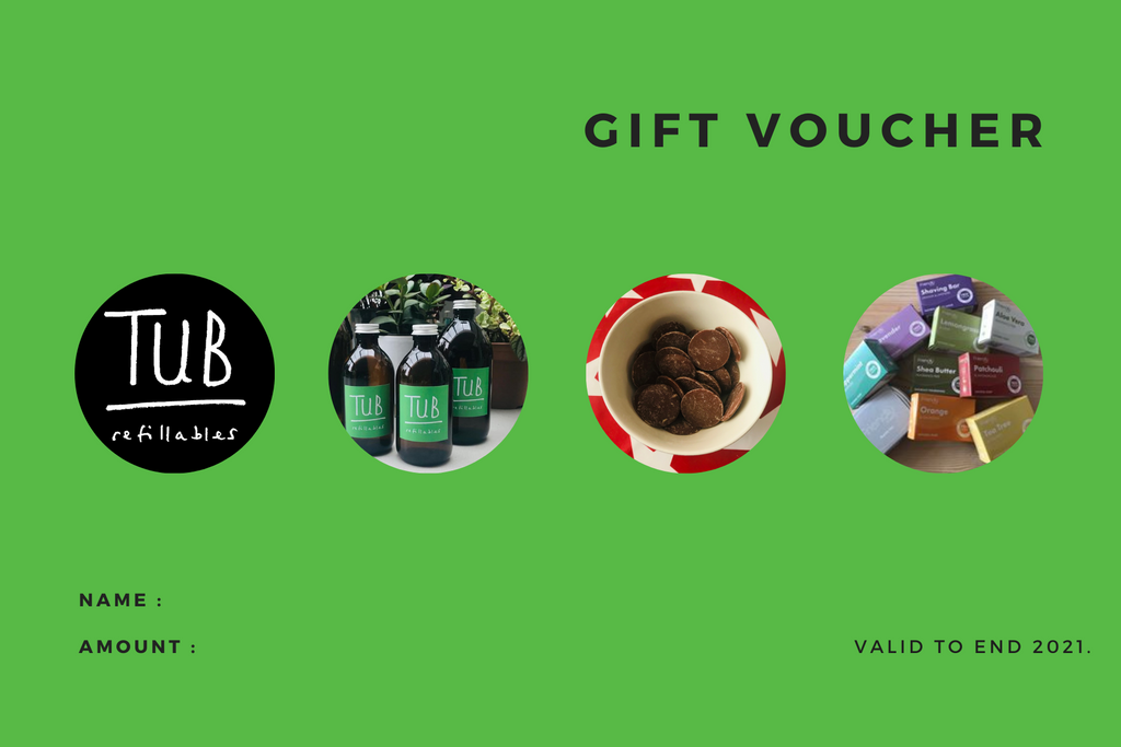 Tub Refillables gift voucher