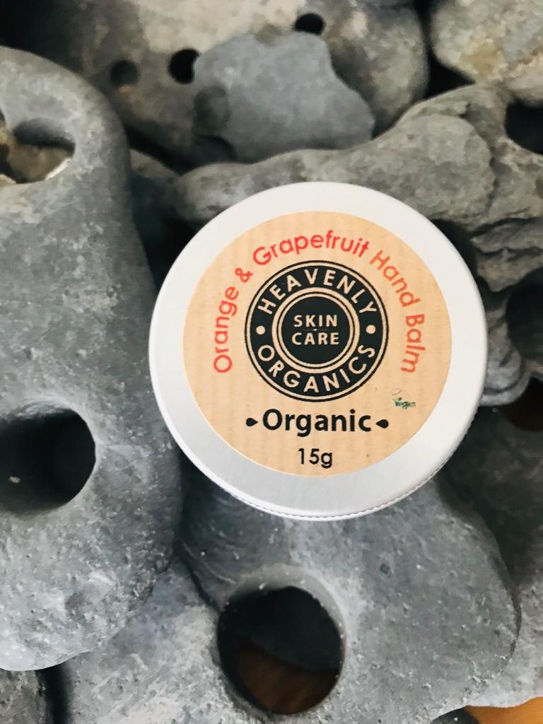 Heavenly Organics hand balm (orange & grapefruit)