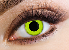 Eyecasions Grinch Contact Lenses