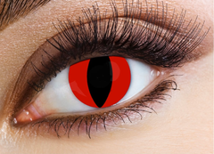 Eyecasions Red Cat Contact Lenses