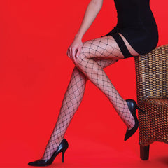 Silky Whale Net Stockings
