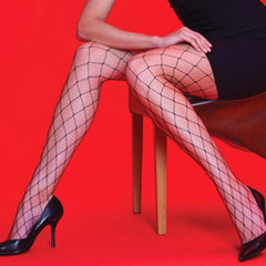 Silky Whale net Tights