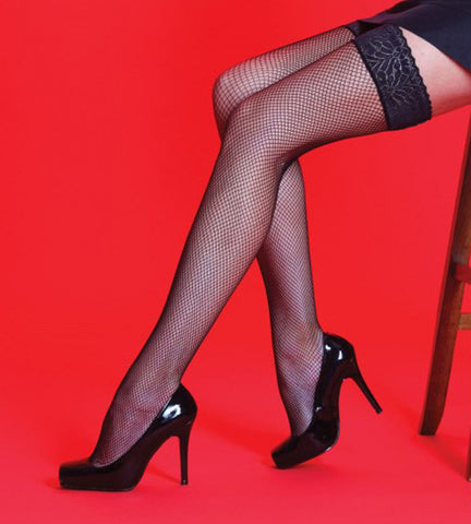 Silky Fishnet Hold-ups