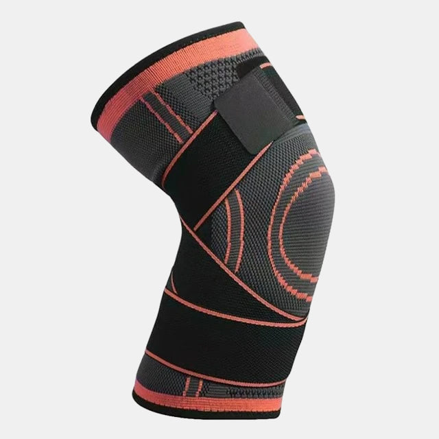 Knee Support Sleeve with tightening straps Orange