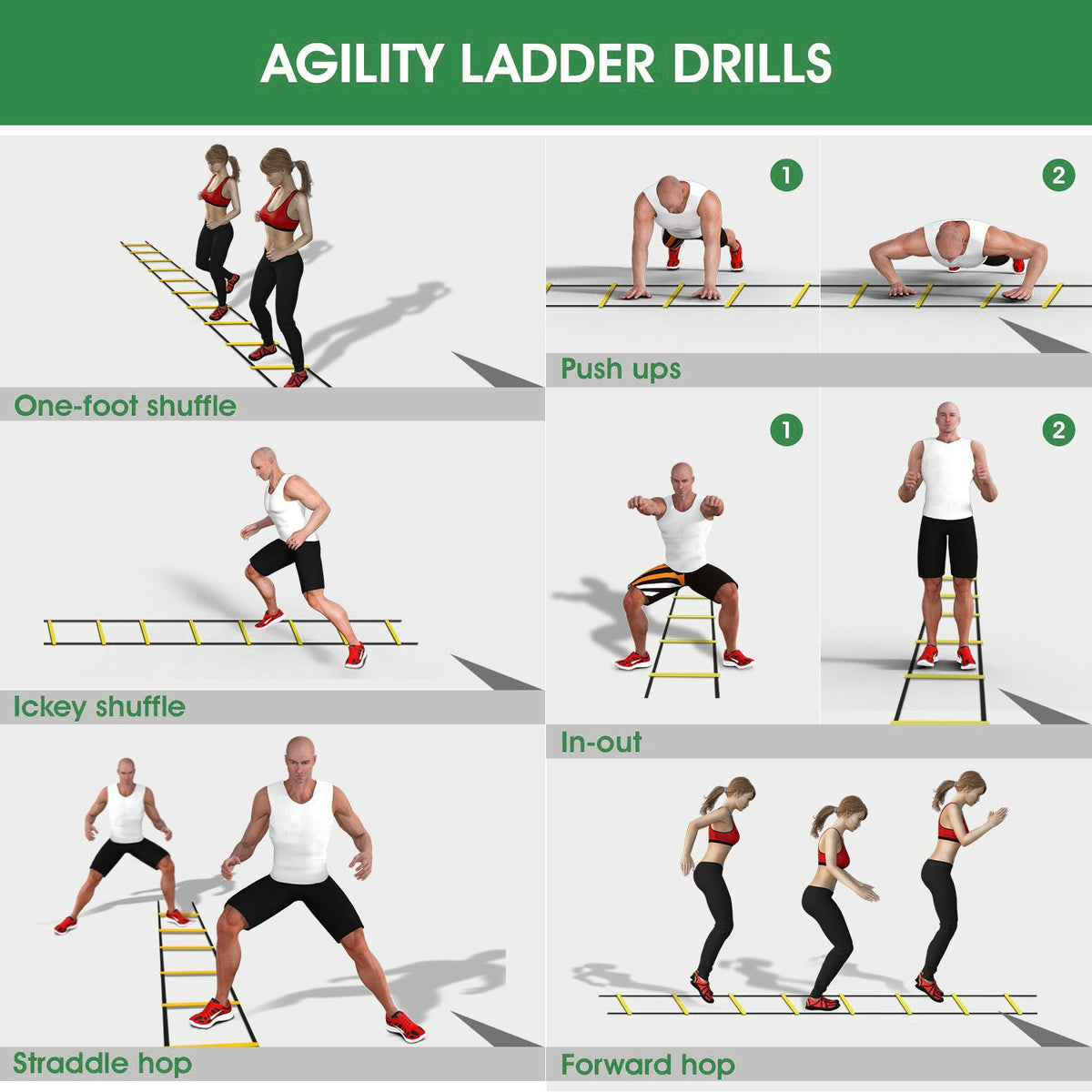 Agility Speed Training Football Speed Ladder 3m