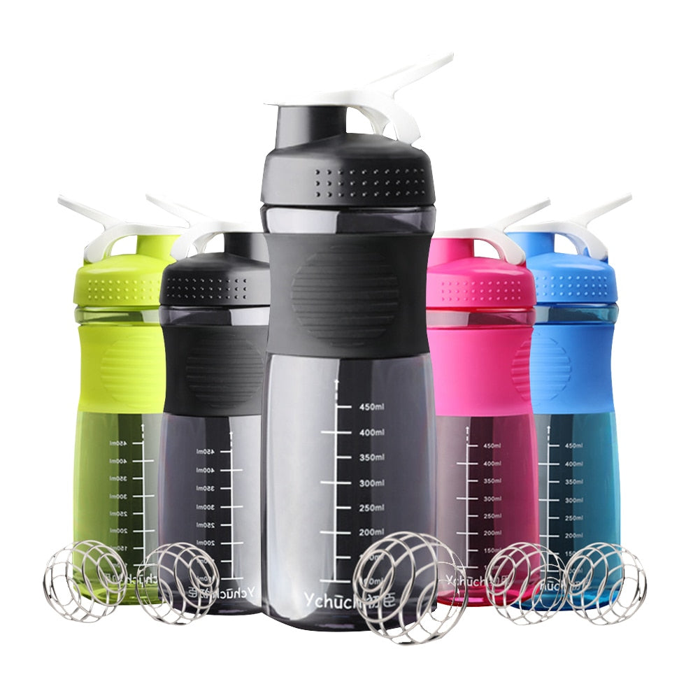 Green Sports protein Shaker Bottle 800ml
