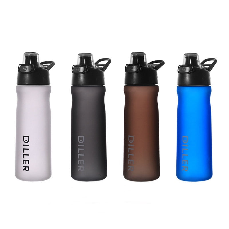 Sports Water Bottle Leakproof  BPA Free Blue