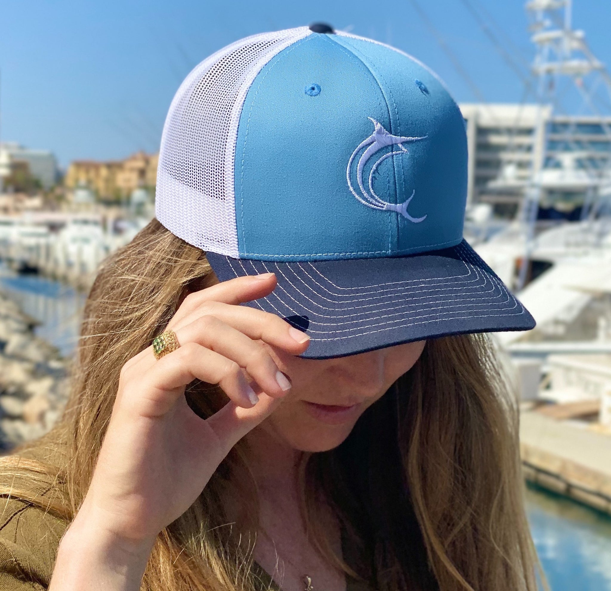 Ocean Waters Trucker Hat