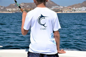 White Fish On The Side Performance Youth Short Sleeve