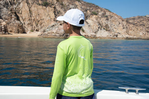 Lime Cabo Long Sleeve
