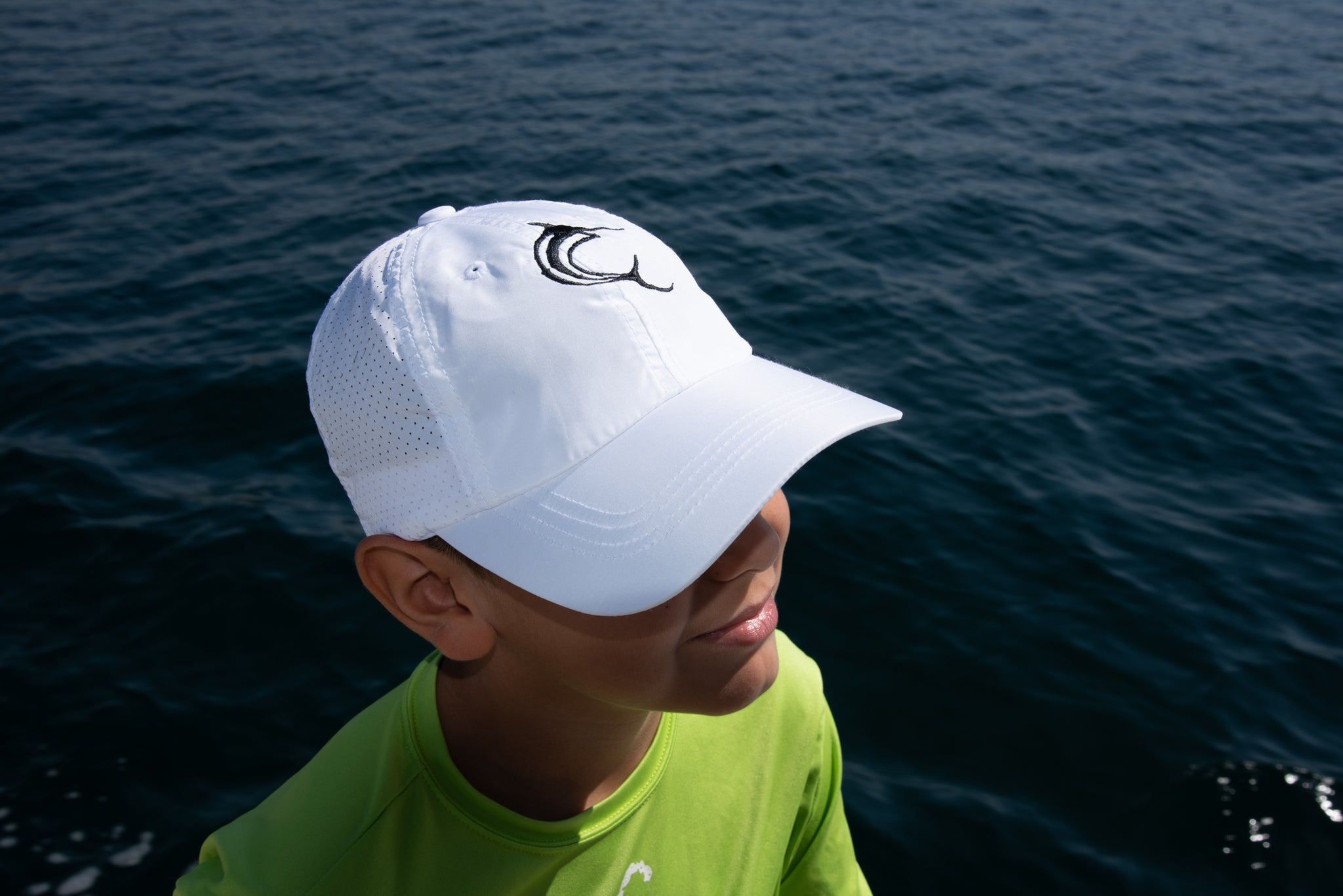 White Drifit Hat