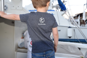 "Charcoal  ""Life's a Beach"" Toddler Tee"