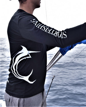 Pisces Black Long Sleeve