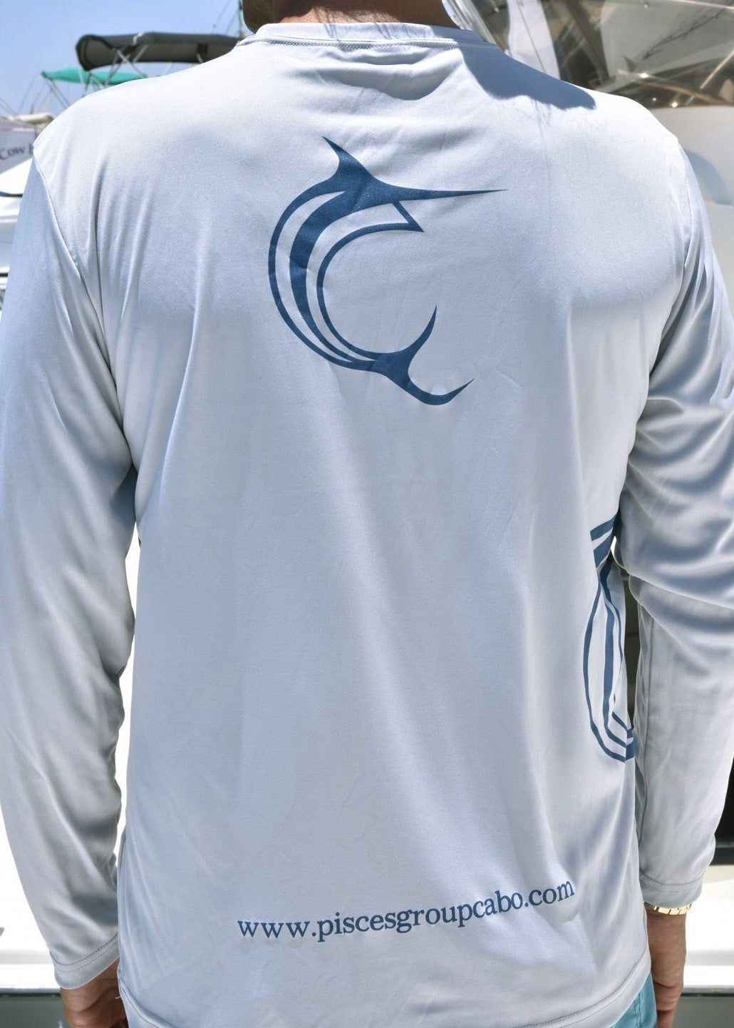 Silver Performance Long Sleeve