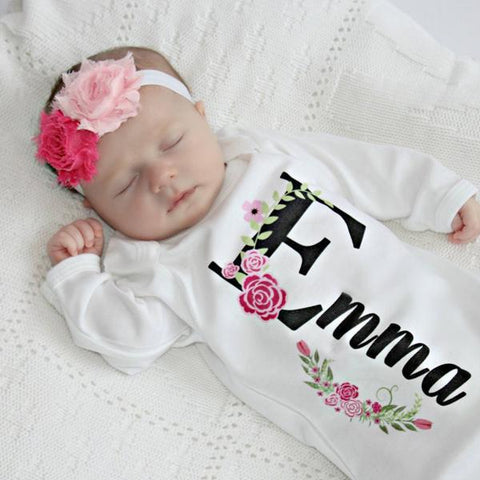 Newborn Girl Take Home Outfit-Gown