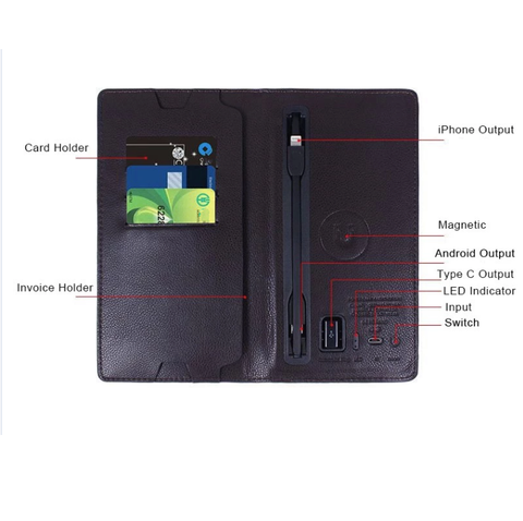 Multifunctional Power Wallet