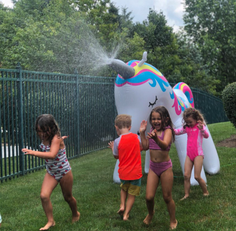 Awesome Ginormous Unicorn Sprinkler